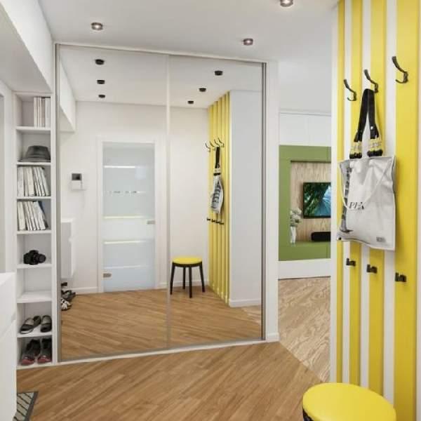 встроенные шкафы купе в коридор фото, фото 22