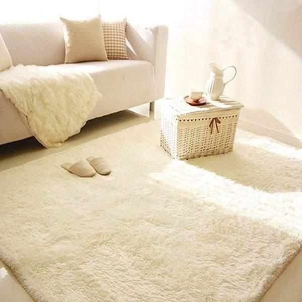 белые ковры на пол, фото 61
