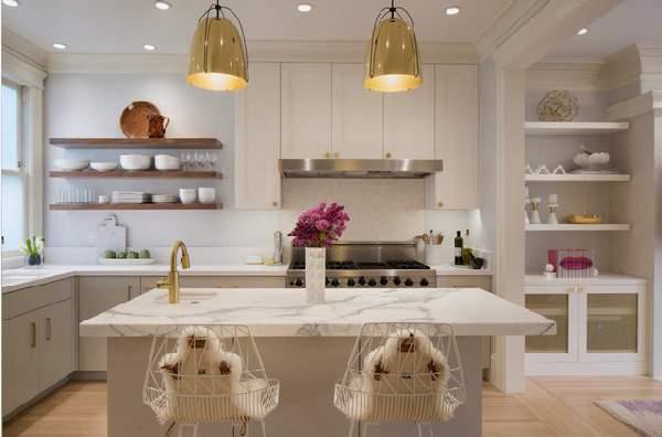 современные кухни студии фото, фото 13