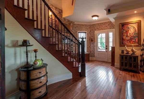 дизайн прихожей в доме с лестницей, фото 20