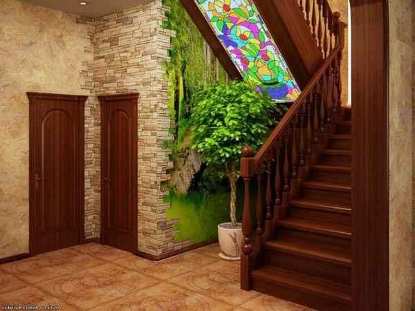 дизайн прихожей в доме, фото 56