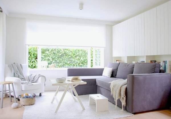 ковры белого цвета в интерьере, фото 70