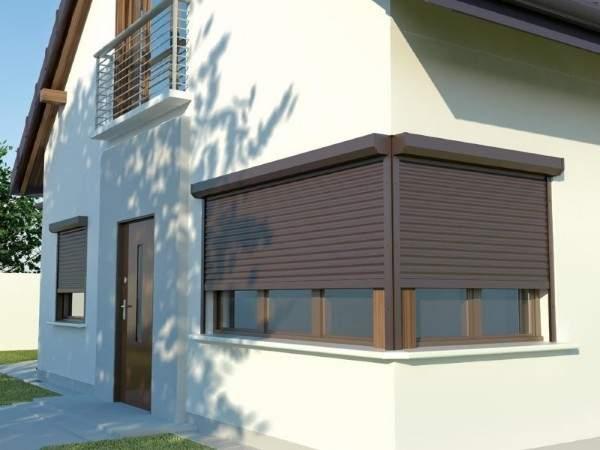 металлические ставни жалюзи на окна для дачи, фото 10