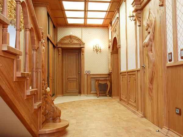 прихожая ремонт дизайн фото в доме частном, фото 60