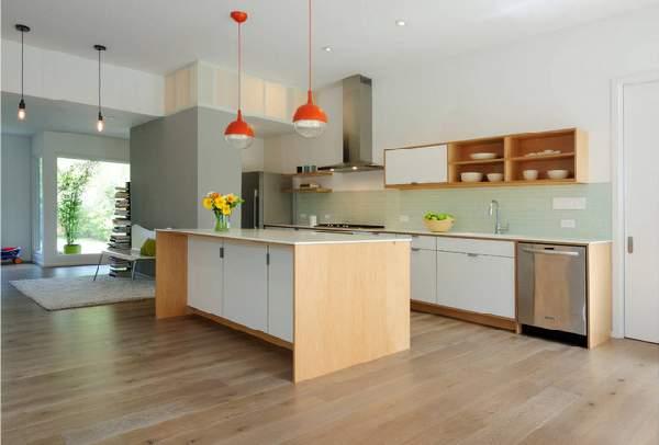 современные кухни студии фото, фото 27
