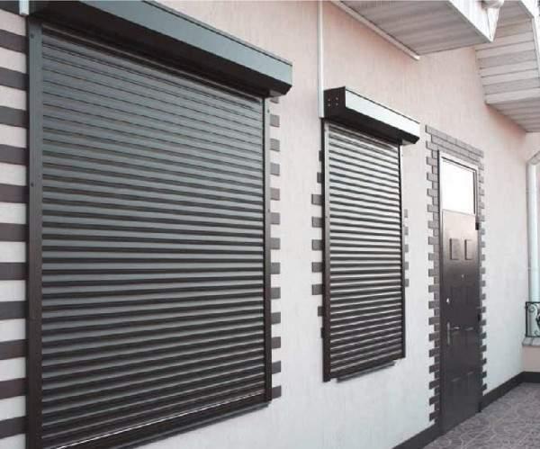 металлические жалюзи на дверь, фото 11