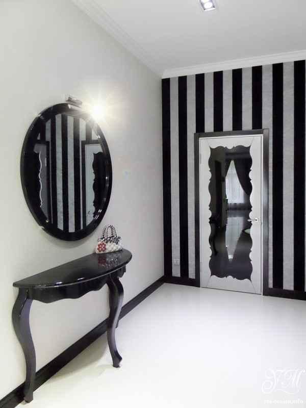 современный дизайн прихожей в доме, фото 61
