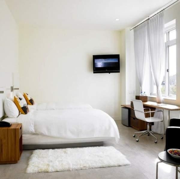 белые ковры в дизайне интерьера, фото 34
