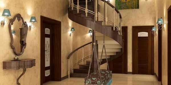современный дизайн прихожей в доме, фото 62
