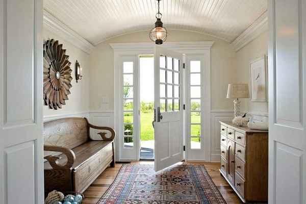 современный дизайн прихожей в доме, фото 32