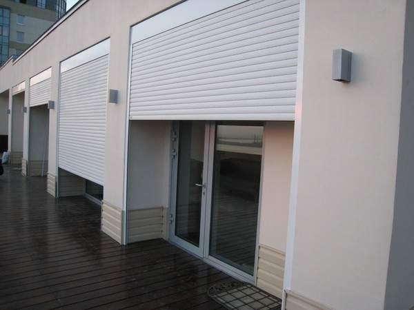 жалюзи металлические защитные на окна, фото 25