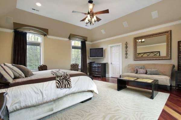 белые ковры на пол, фото 36