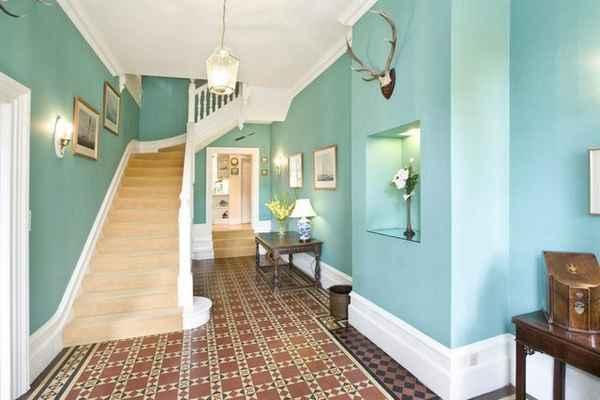 современный дизайн прихожей в доме, фото 64