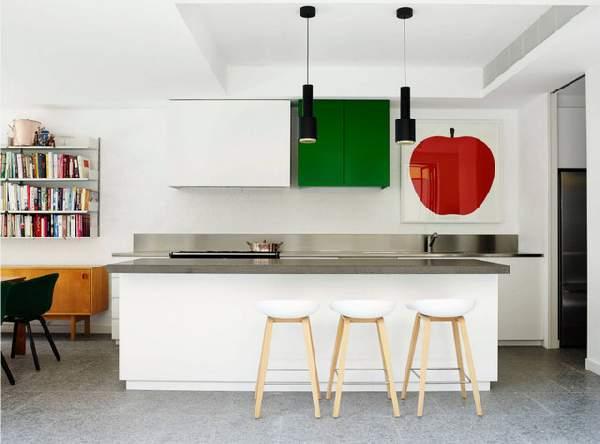 современные кухни с барной стойкой, фото 69