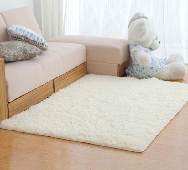 белые ковры на пол, фото 55