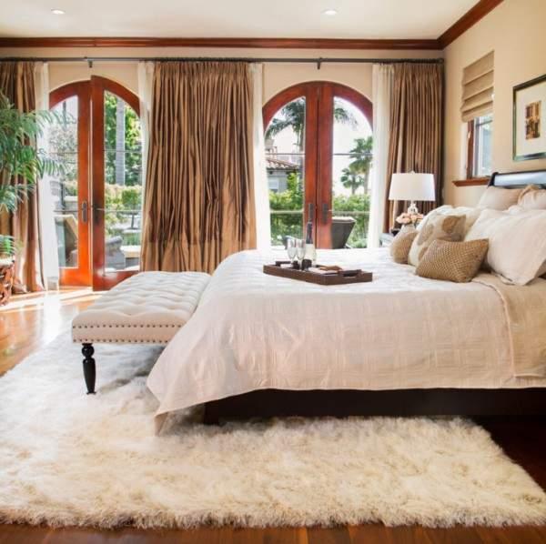 белые ковры с ворсом, фото 58