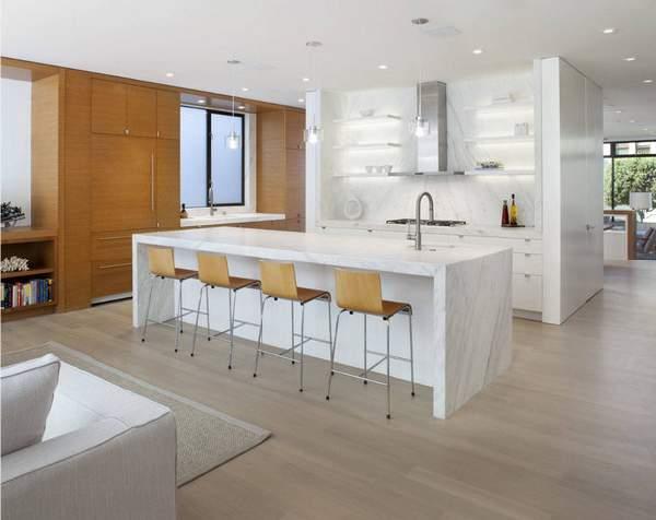 угловая кухня в современном стиле, фото 31