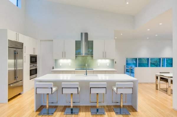 угловая кухня в современном стиле, фото 33