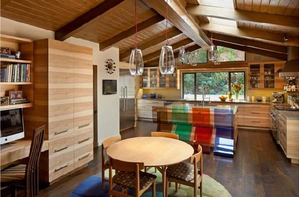 угловая кухня в современном стиле, фото 34