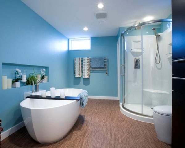 большая ванная комната дизайн фото, фото 19