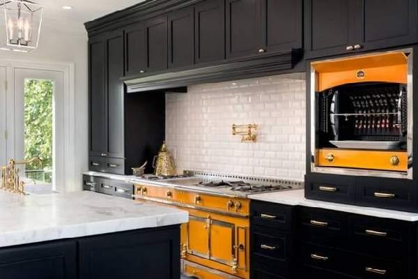фото современных кухонь в частном доме, фото 80