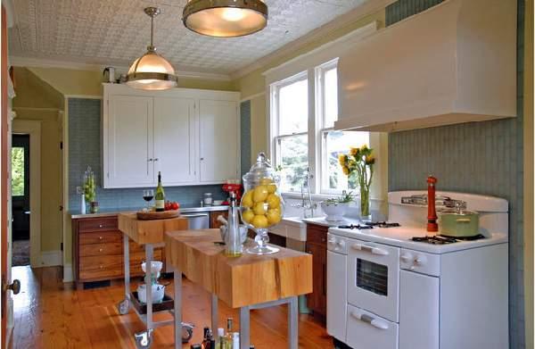 угловая кухня в современном стиле, фото 35