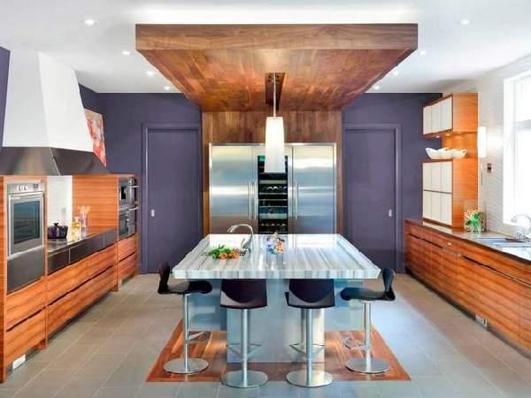варианты современных кухонь, фото 42