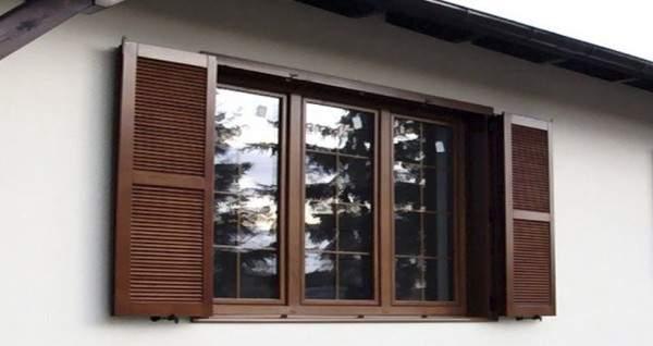 металлические ставни жалюзи на окна, фото 53
