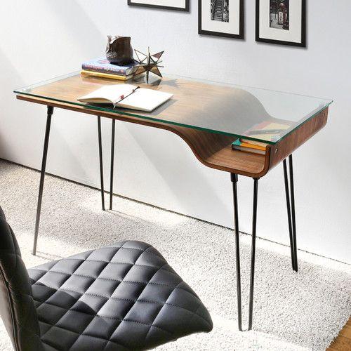 Стеклянный письменный стол, фото 11