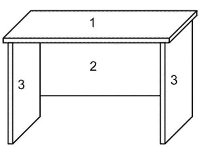Как сделать письменный стол своими руками чертежи, фото