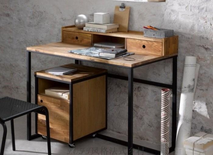 сделать стол в стиле лофт, фото 2