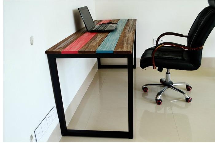 сделать стол в стиле лофт, фото 3