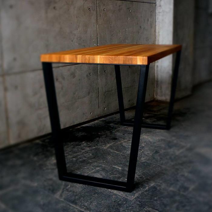 сделать стол в стиле лофт, фото 5