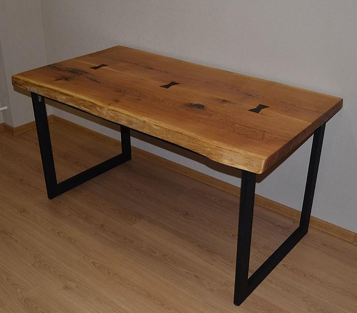сделать стол в стиле лофт, фото 6