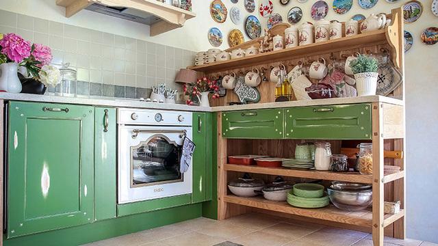 декор маленькой кухни в стиле прованс
