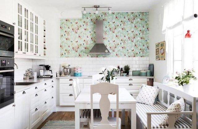 дизайн маленькой кухни в стиле прованс фото