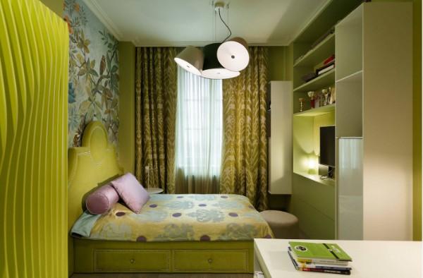 идеи интерьера детской комнаты для девочки фото