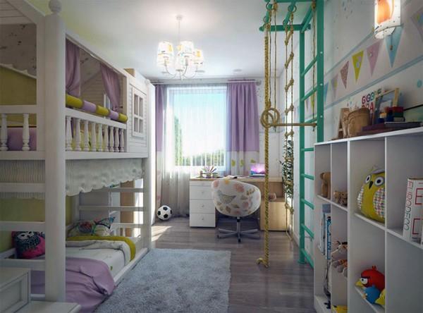 интерьер детской комнаты для девочек фото