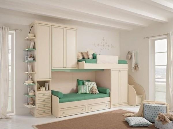 интерьер детской комнаты для девочек разного возраста фото