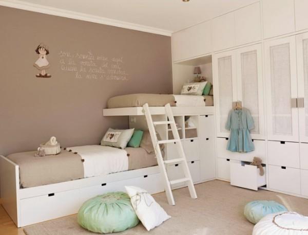 интерьер детской комнаты для девочек разного возраста