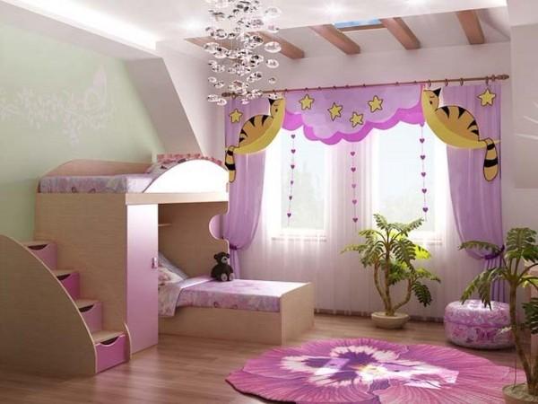 интерьер детской комнаты для девочки 10 лет