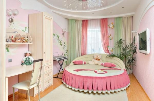 интерьер детской комнаты для девочки 10 лет фото