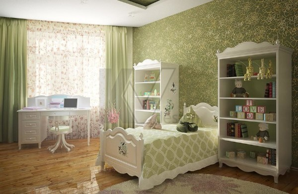 интерьер детской комнаты для девочки 10