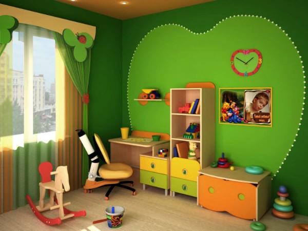интерьер детской комнаты для девочки 3 лет фото