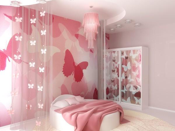 интерьер детской комнаты для девочки 5 лет фото