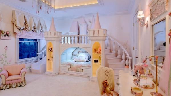 интерьер детской комнаты для девочки 7