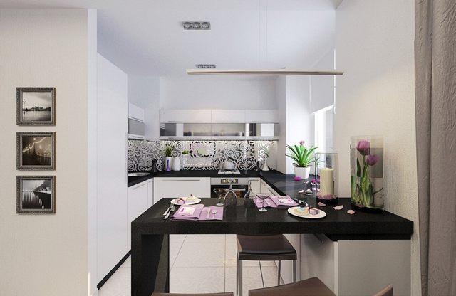 интерьер кухни гостиной современные идеи