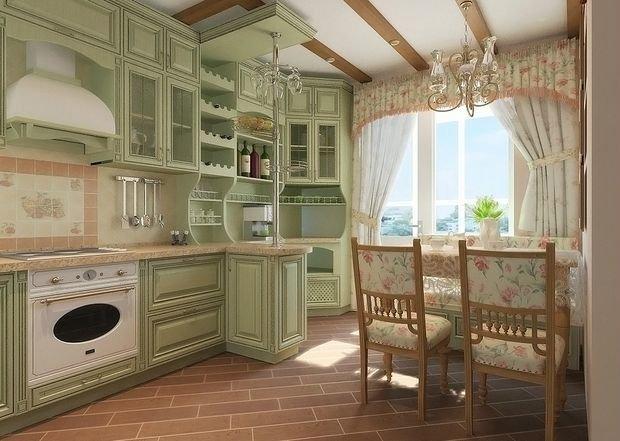 кухонный фасад в стиле прованс