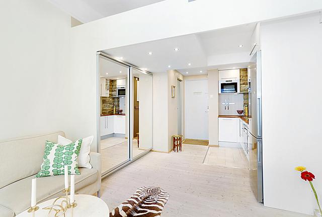 дизайн маленькой квартиры студии 20 кв м