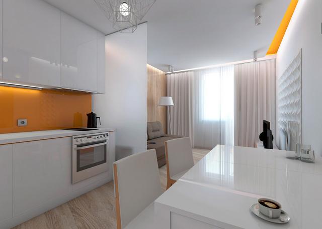дизайн маленькой квартиры студии 25 кв м